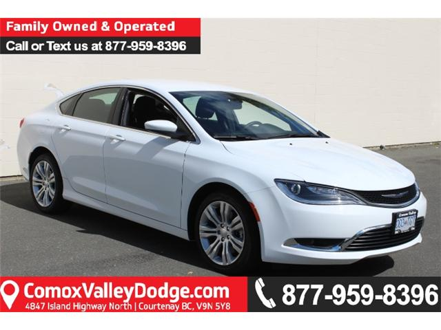 2016 Chrysler 200 Limited (Stk: N158710A) in Courtenay - Image 1 of 27