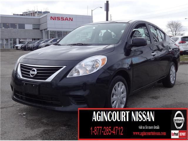 2013 Nissan Versa 1.6 SV (Stk: JW184152A) in Scarborough - Image 1 of 16