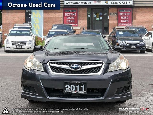 2011 Subaru Legacy 2.5 i Convenience Package (Stk: ) in Scarborough - Image 2 of 25