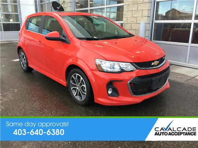 2017 Chevrolet Sonic LT Auto (Stk: 59387) in Calgary - Image 1 of 22