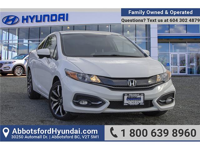 2015 Honda Civic EX-L Navi (Stk: AH8762) in Abbotsford - Image 1 of 24