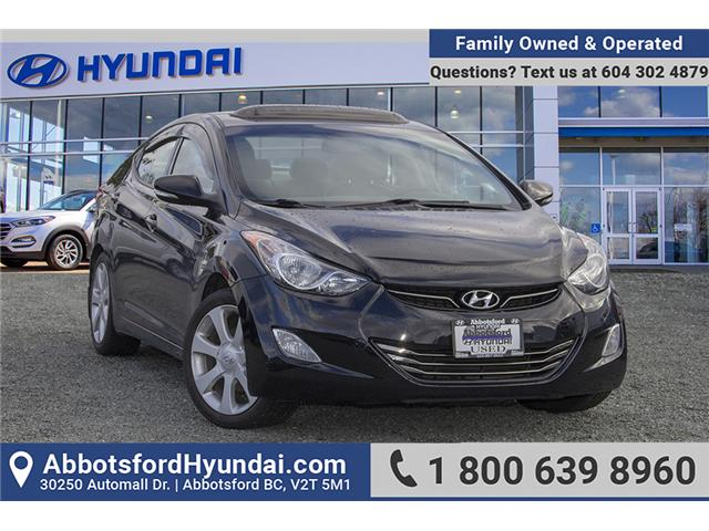 2013 Hyundai Elantra Limited (Stk: JT774492A) in Abbotsford - Image 1 of 24