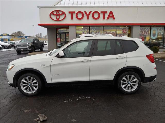 2016 BMW X3 xDrive28i (Stk: 1811101) in Cambridge - Image 1 of 13