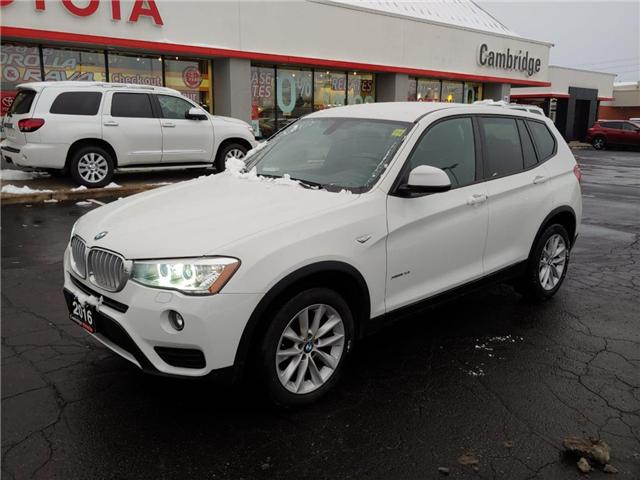2016 BMW X3 xDrive28i (Stk: 1811101) in Cambridge - Image 2 of 13