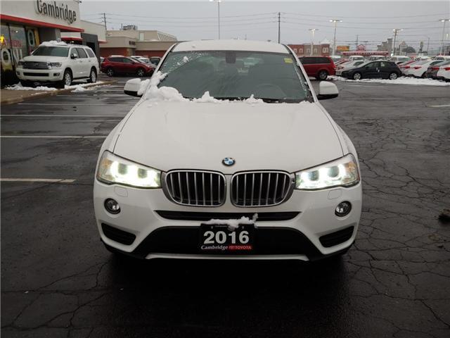 2016 BMW X3 xDrive28i (Stk: 1811101) in Cambridge - Image 3 of 13