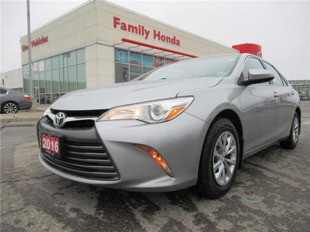 2016 Toyota Camry LE, COMES WITH MATS AND NET! (Stk: U03324) in Brampton - Image 1 of 26