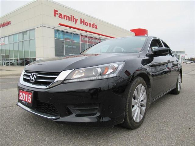 2015 Honda Accord LX, BACK UP CAM! 4 NEW TIRES! (Stk: 8809502A) in Brampton - Image 1 of 20
