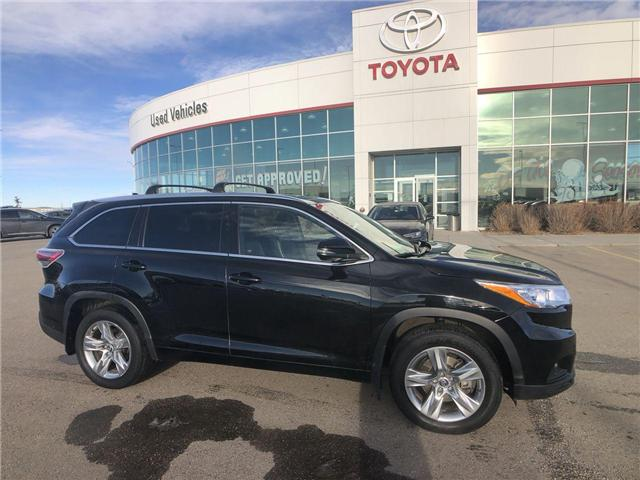 2016 Toyota Highlander Limited (Stk: 2860413A) in Calgary - Image 1 of 18
