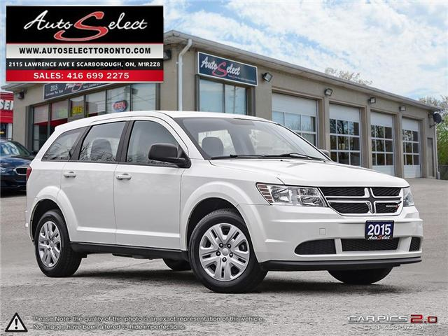 2015 Dodge Journey  (Stk: 1DHJ6LP2) in Scarborough - Image 1 of 28