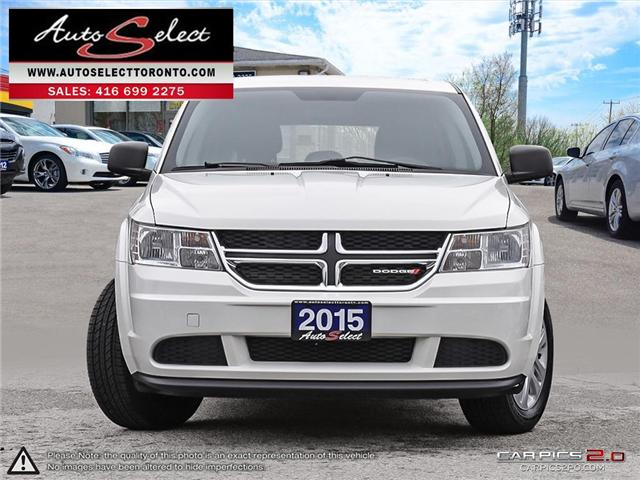 2015 Dodge Journey  (Stk: 1DHJ6LP2) in Scarborough - Image 2 of 28