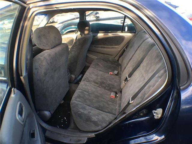 1998 Toyota Corolla LE SEDAN POWER GROUP, CRUISE, AMFM, CASS, 4 DOOR (Stk: 42913A) in Brampton - Image 9 of 9