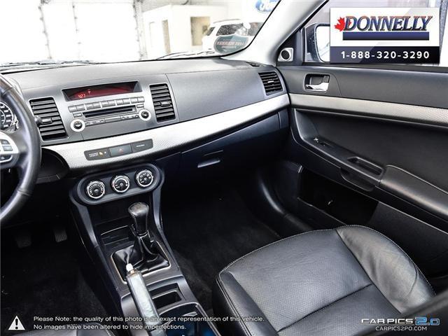 2012 Mitsubishi Lancer Sportback SE (Stk: CLDUR5695B) in Ottawa - Image 25 of 30