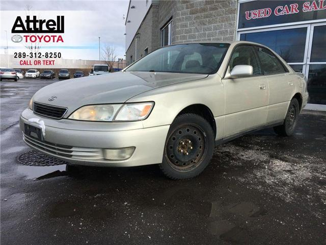 1997 Lexus ES 300 SEDAN V6 LEATHER, SUNROOF, HEATED SEATS, POWER SEA (Stk: 42861A) in Brampton - Image 1 of 14
