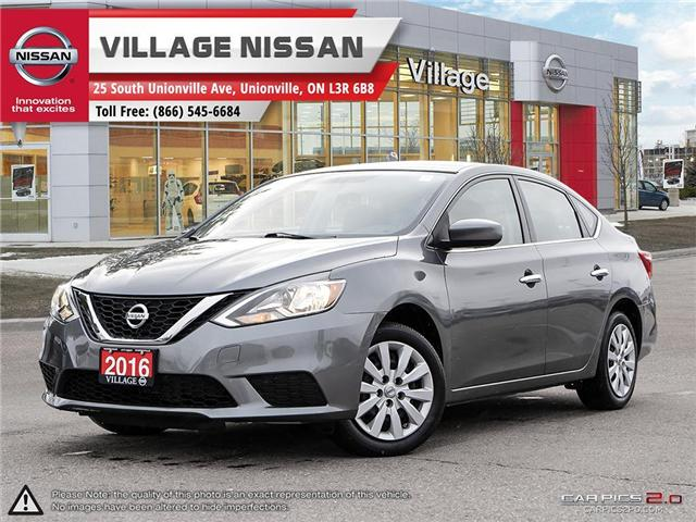 2016 Nissan Sentra 1.8 S (Stk: P2708) in Unionville - Image 1 of 27