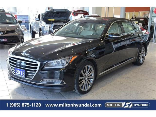 2015 Hyundai Genesis 5.0 Ultimate (Stk: 025805A) in Milton - Image 1 of 43