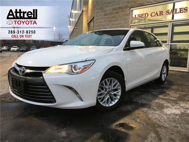 2017 Toyota Camry LE UPGRADE PKG 1 OWNER ALLOYS, B.CAMERA, POWER HEA (Stk: 8513) in Brampton - Image 1 of 24