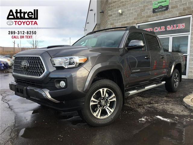 2018 Toyota Tacoma TRD SPORT UPGRADE 4X4 NAVI, ALLOYS, SUNROOF, LEATH (Stk: 41231A) in Brampton - Image 1 of 28