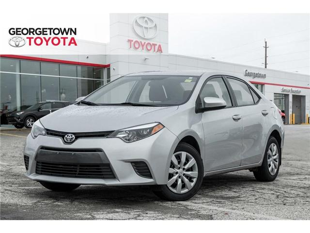 2015 Toyota Corolla  (Stk: 15-85129) in Georgetown - Image 1 of 20