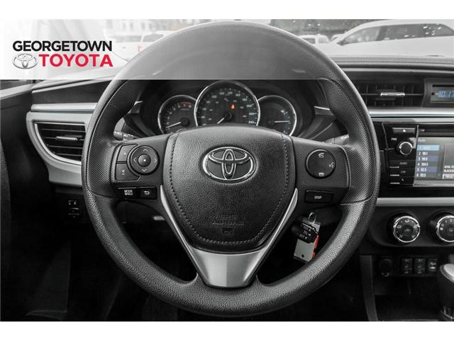 2015 Toyota Corolla  (Stk: 15-85129) in Georgetown - Image 8 of 20