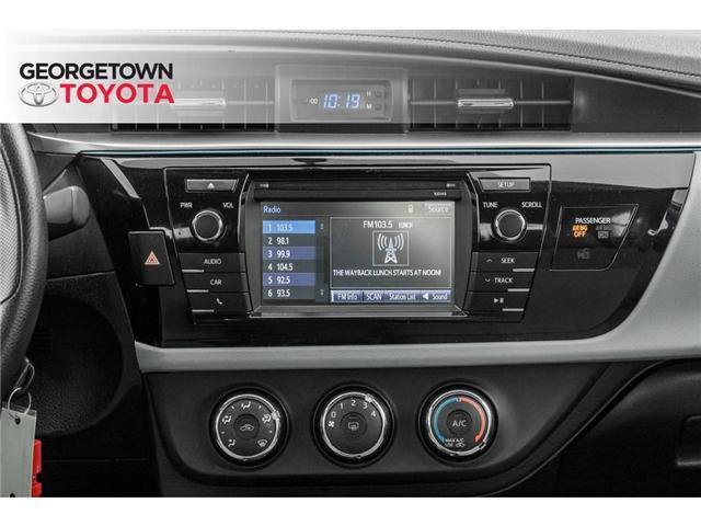 2015 Toyota Corolla  (Stk: 15-85129) in Georgetown - Image 18 of 20