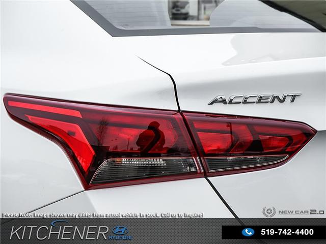 2019 Hyundai Accent Ultimate (Stk: 58276) in Kitchener - Image 11 of 23