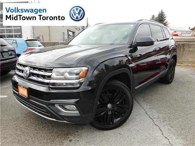 2018 Volkswagen Atlas 3.6 FSI Execline (Stk: P7113) in Toronto - Image 1 of 30
