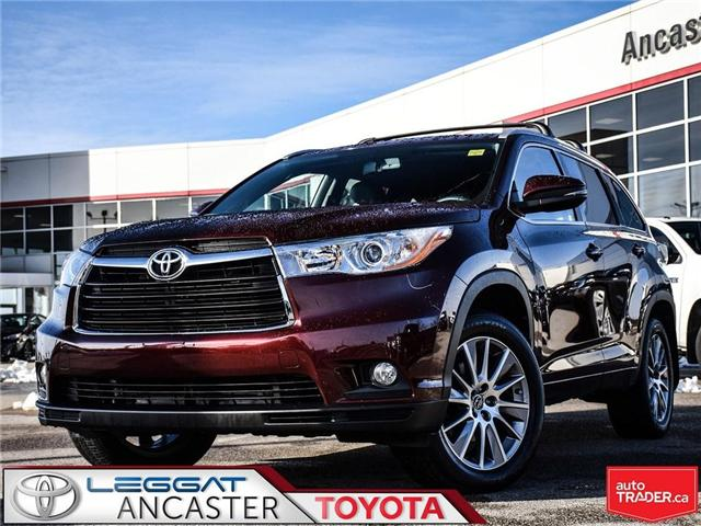 2016 Toyota Highlander  (Stk: 3744) in Ancaster - Image 1 of 23