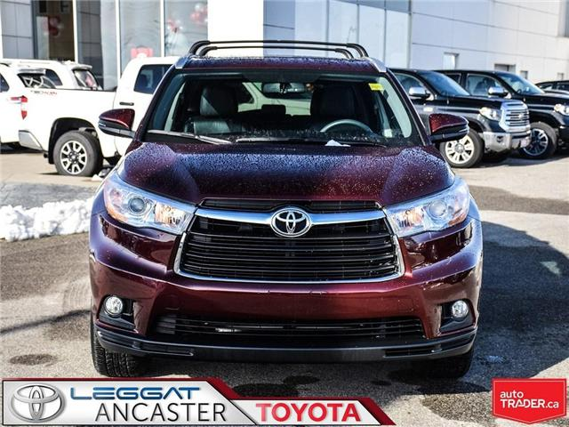 2016 Toyota Highlander  (Stk: 3744) in Ancaster - Image 2 of 23