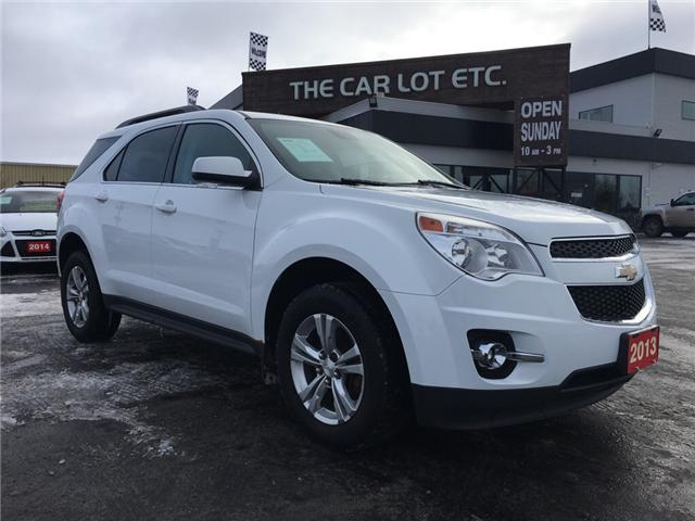 2013 Chevrolet Equinox 1LT (Stk: 18636) in Sudbury - Image 1 of 12