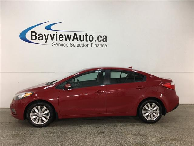 2015 Kia Forte 1.8L LX+ (Stk: 33897J) in Belleville - Image 1 of 23
