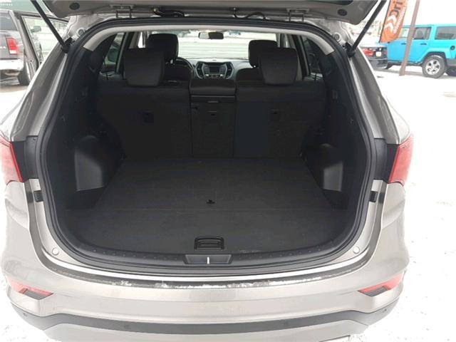 2018 Hyundai Santa Fe Sport 2.4 SE (Stk: A2570) in Saskatoon - Image 21 of 22