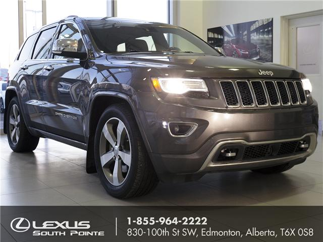 2014 Jeep Grand Cherokee Overland (Stk: L800626A) in Edmonton - Image 1 of 21
