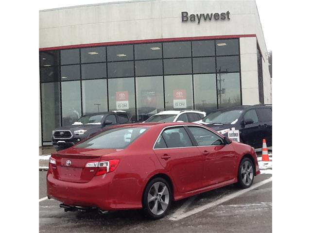 2014 Toyota Camry SE (Stk: 19077A) in Owen Sound - Image 3 of 6