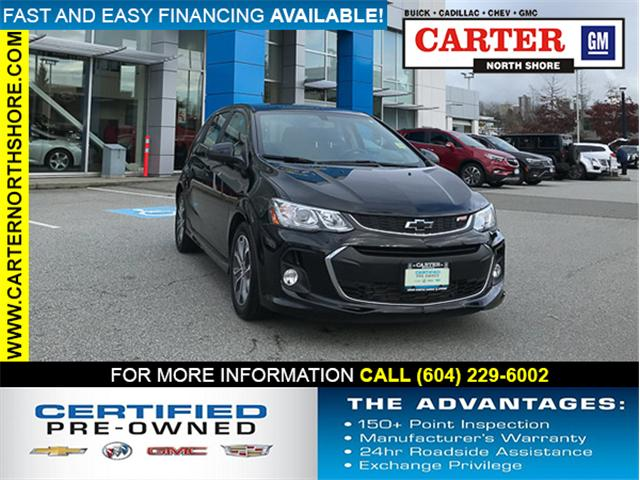 2018 Chevrolet Sonic LT Auto (Stk: 971530) in North Vancouver - Image 1 of 26