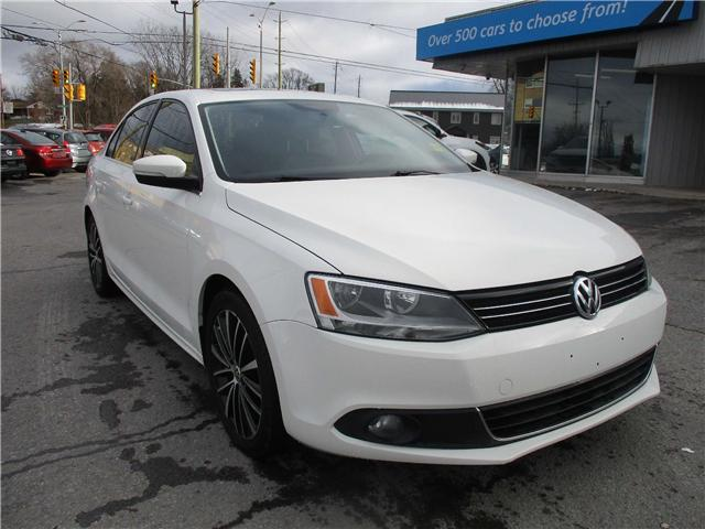 2014 Volkswagen Jetta 2.0 TDI Highline (Stk: 181839) in Kingston - Image 1 of 12