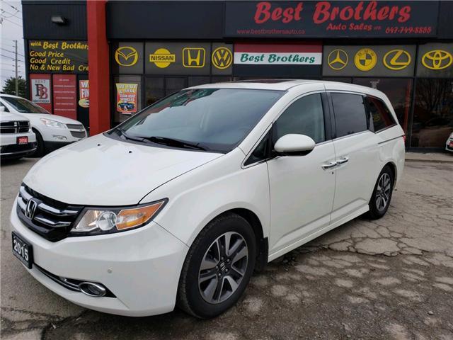 2015 Honda Odyssey Touring (Stk: 504078) in Toronto - Image 1 of 18
