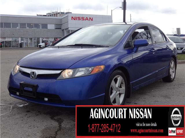 2006 Honda Civic EX (Stk: JY303313A) in Scarborough - Image 1 of 15