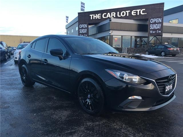 2016 Mazda Mazda3 GS (Stk: 18667) in Sudbury - Image 1 of 14