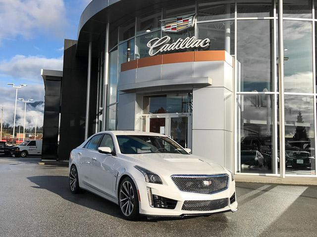 2017 Cadillac CTS-V Base (Stk: 971610) in North Vancouver - Image 2 of 26