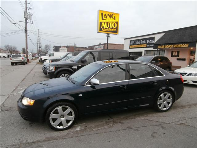 2004 Audi S4 4.2 (Stk: 16023) in Etobicoke - Image 1 of 16