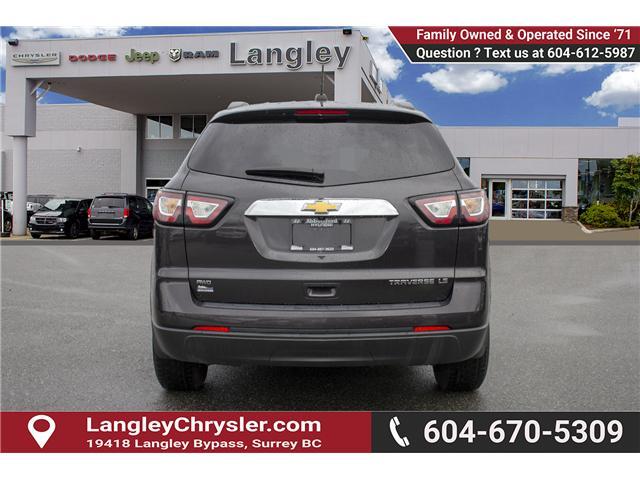 2016 Chevrolet Traverse LS (Stk: EE899310) in Surrey - Image 5 of 23