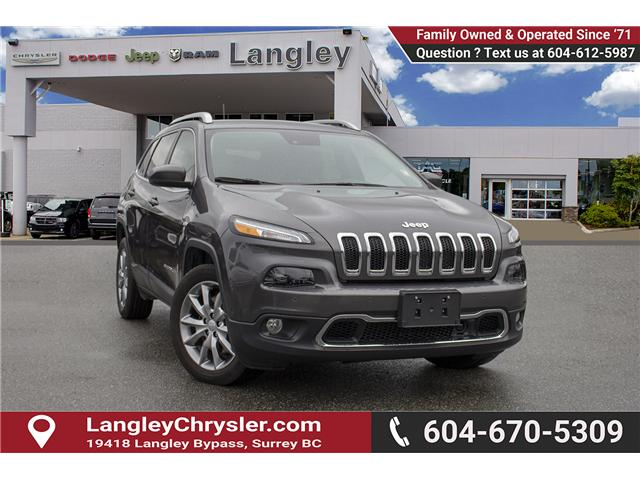2018 Jeep Cherokee Limited (Stk: EE899490) in Surrey - Image 1 of 24