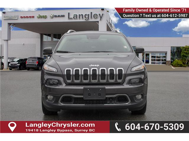 2018 Jeep Cherokee Limited (Stk: EE899490) in Surrey - Image 2 of 24