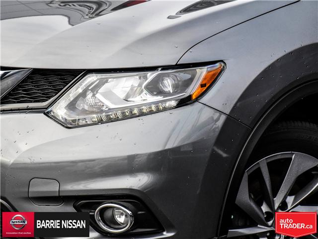 2016 Nissan Rogue SL Premium (Stk: P4502) in Barrie - Image 2 of 27