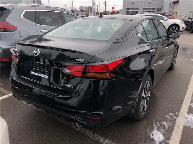 2019 Nissan Altima 2.5 SV (Stk: AL19001) in St. Catharines - Image 4 of 5
