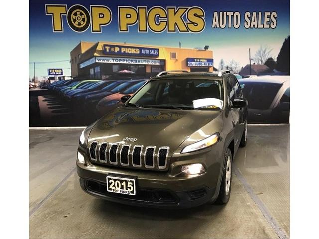 2015 Jeep Cherokee Sport (Stk: 695640) in NORTH BAY - Image 1 of 20