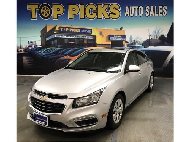 2016 Chevrolet Cruze Limited 1LT (Stk: 203609) in NORTH BAY - Image 1 of 24