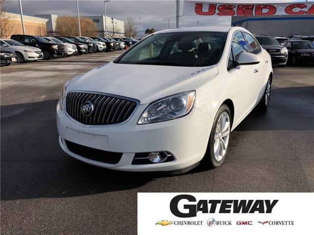 2014 Buick Verano LEATHER PKG|NAV|SIDE BLINDZONE ALERT|MUCH MORE| (Stk: 090563A) in BRAMPTON - Image 1 of 17