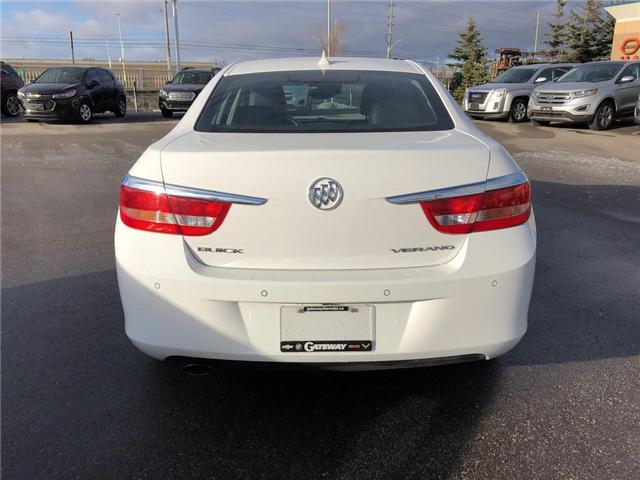 2014 Buick Verano LEATHER PKG|NAV|SIDE BLINDZONE ALERT|MUCH MORE| (Stk: 090563A) in BRAMPTON - Image 6 of 17