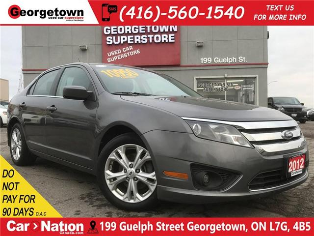 2012 Ford Fusion SE | SIRIUS RADIO | ALLOY WHEELS | FOG LIGHTS (Stk: P11436) in Georgetown - Image 1 of 26